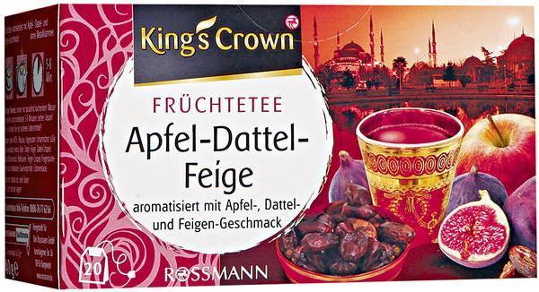Отзыв на King's Crown Früchtetee Apfel-Dattel-Feige из Интернет-Магазина ROSSMANN