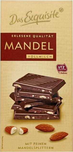 Отзыв на Das Exquisite erlesene Qualität Mandel & Vollmilch из Интернет-Магазина ROSSMANN