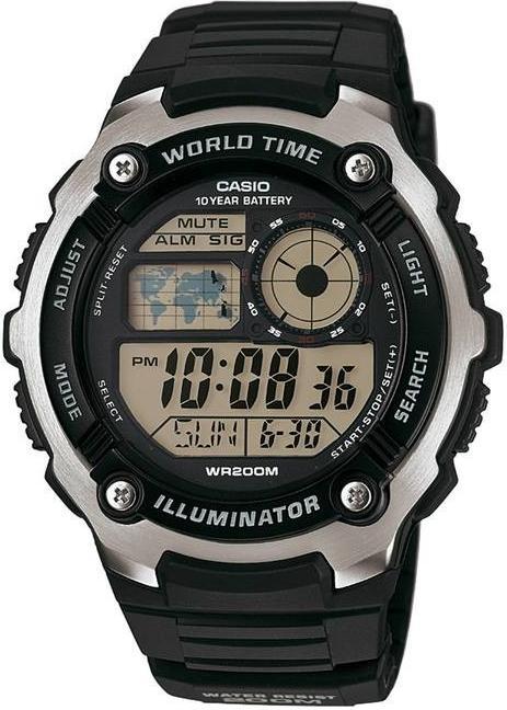 Отзыв на Sportuhr digital AE 2100W 1AVEF CASIO из Интернет-Магазина Decathlon