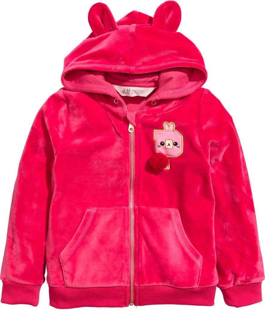 Отзыв на Куртка с капюшоном велюровая из Интернет-Магазина H&M
