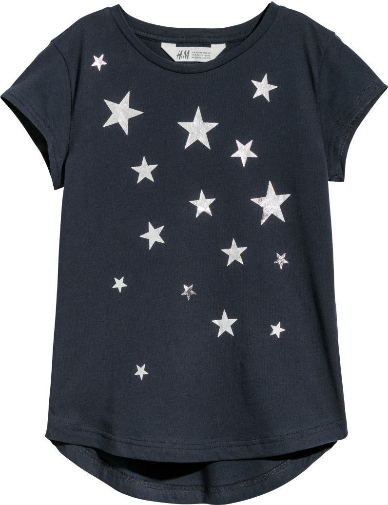 Отзыв на С принтом футболка трикотажная из Интернет-Магазина H&M