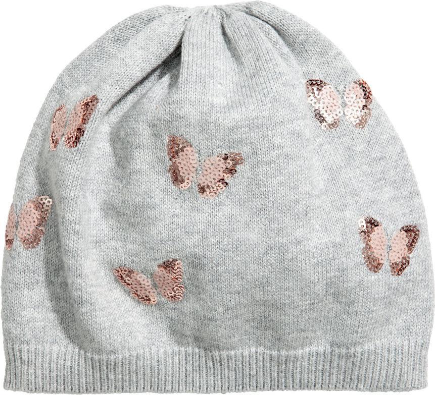 Отзыв на Шапка с тонкой вязкой с блестками из Интернет-Магазина H&M
