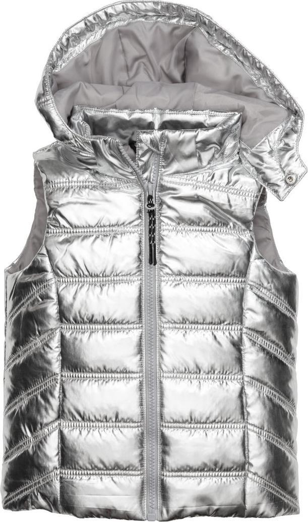 Отзыв на Жилетка ватная с капюшоном из Интернет-Магазина H&M