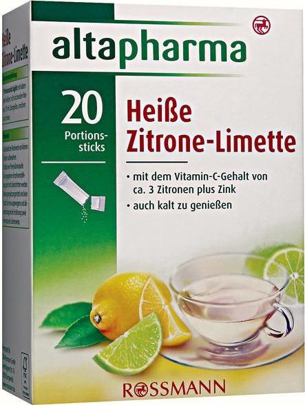 Отзыв на altapharma Heiße Zitrone-Limette из Интернет-Магазина ROSSMANN