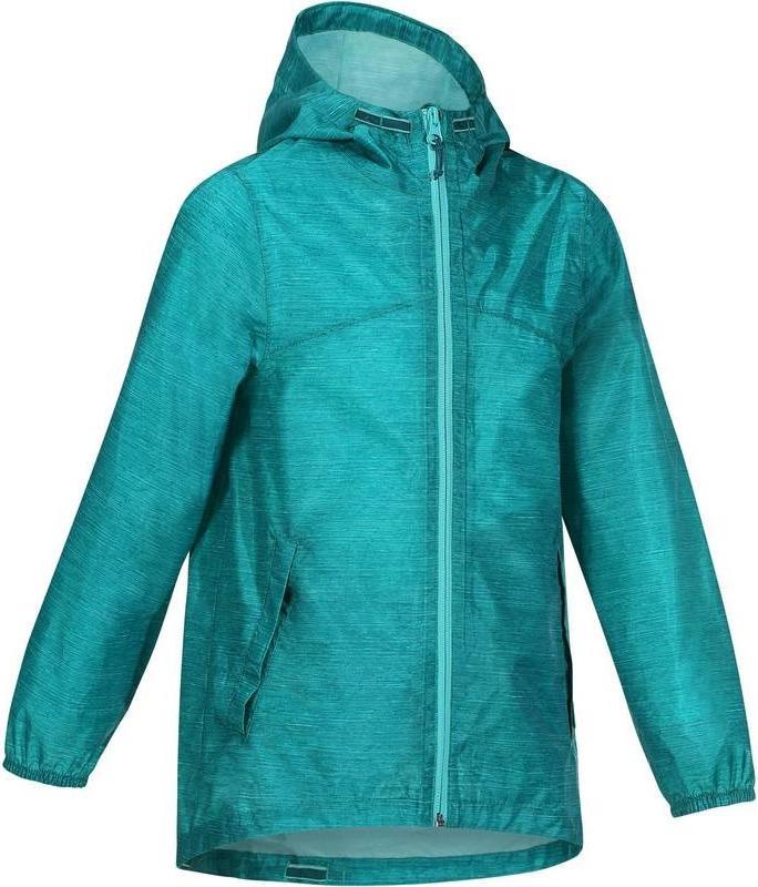 Отзыв на Куртка туристическая   дождевик для детей для девочки  QUECHUA из Интернет-Магазина Decathlon