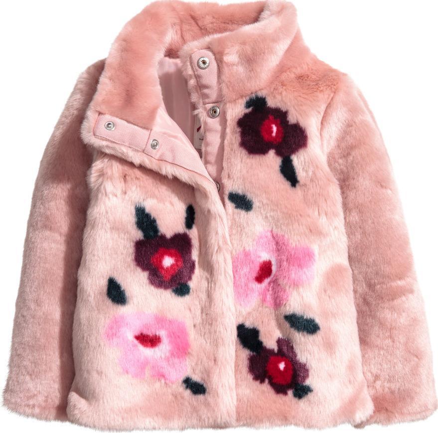 Отзыв на Faux-fur-Jacke из Интернет-Магазина H&M