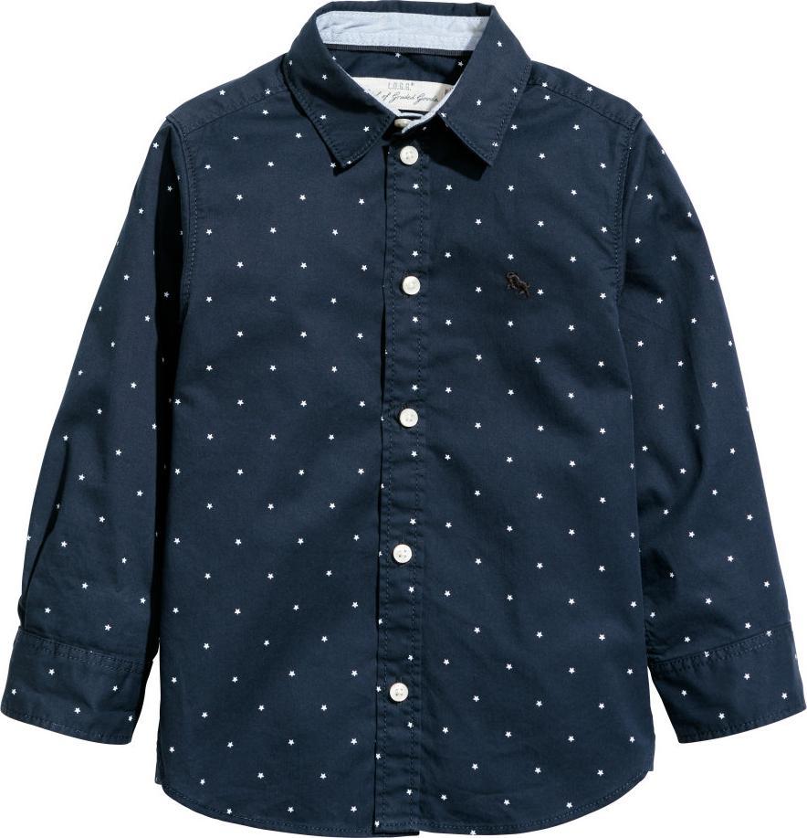 Отзыв на Хлопковая рубашка из Интернет-Магазина H&M