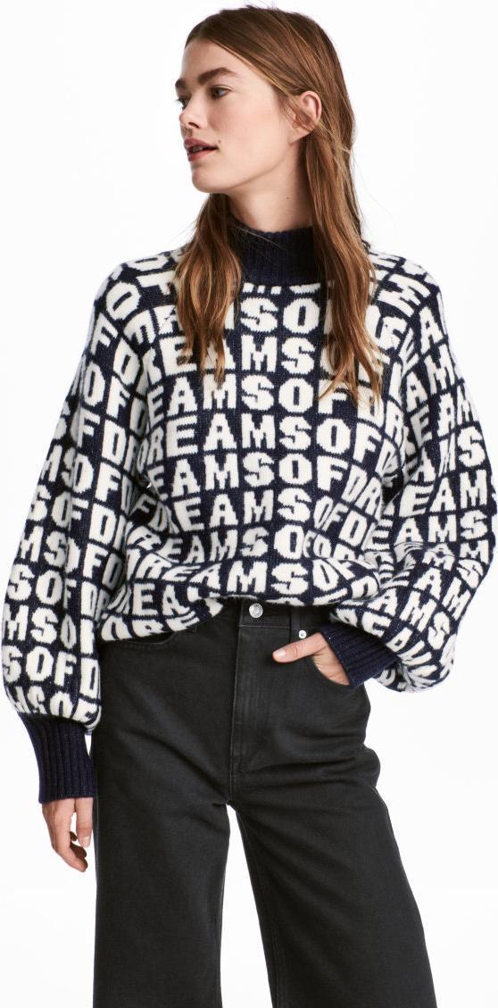 Отзыв на Свитер с жаккардовым узором из Интернет-Магазина H&M