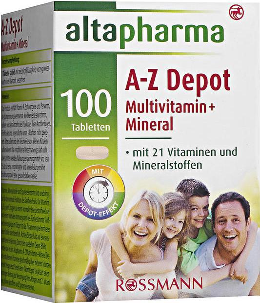 Отзыв на Мультивитамин из Интернет-Магазина ROSSMANN