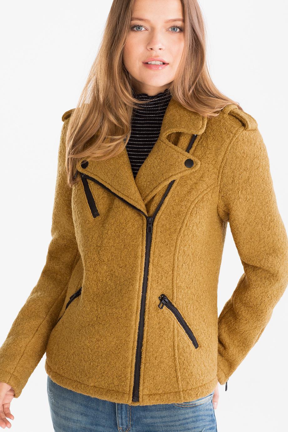 Отзыв на Куртка байкерская из Интернет-Магазина C&A