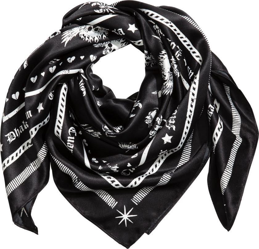 Отзыв на С пестрым рисунком шарф из Интернет-Магазина H&M