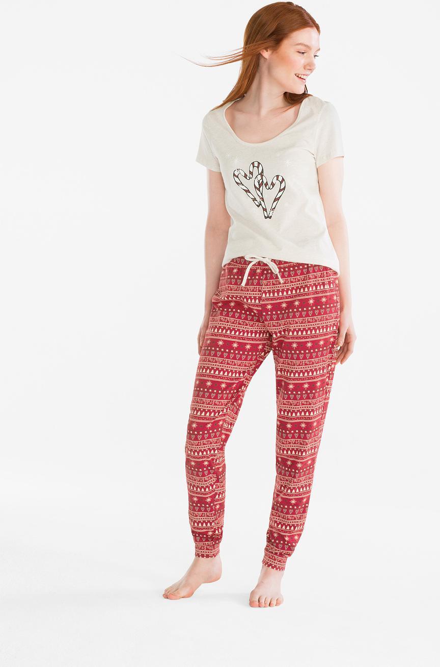 Отзыв на Weihnachtspyjama - Bio-Baumwolle из Интернет-Магазина C&A