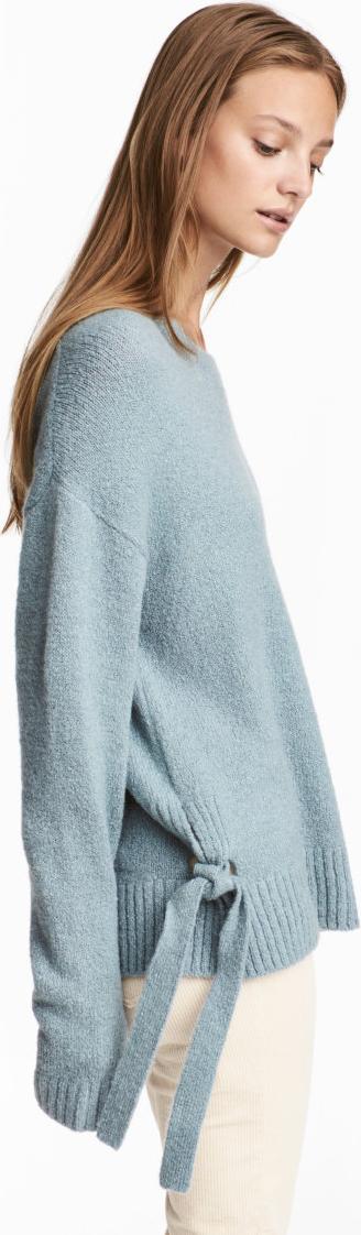 Отзыв на Пуловер со шнуровкой из Интернет-Магазина H&M