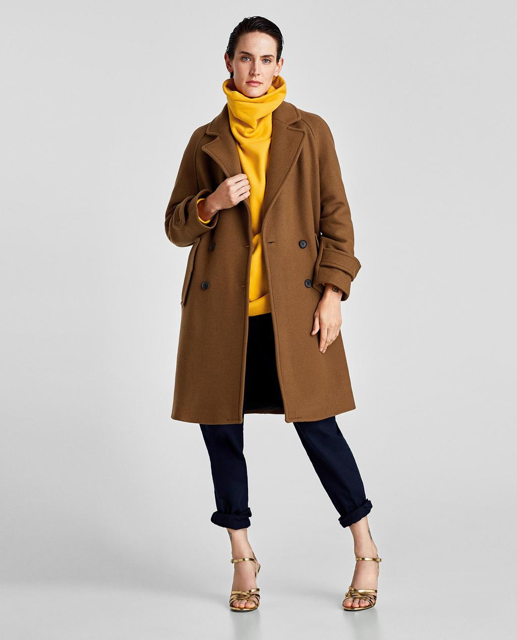 Отзыв на Пальто из Интернет-Магазина Zara