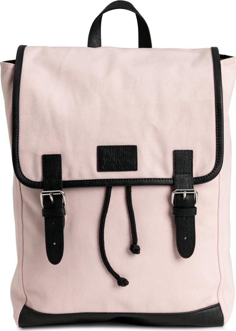 Отзыв на Рюкзак брезентовая хлопковая из Интернет-Магазина H&M