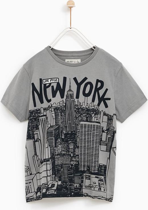 "Отзыв на Футболка ""New York"" из Интернет-Магазина Zara"