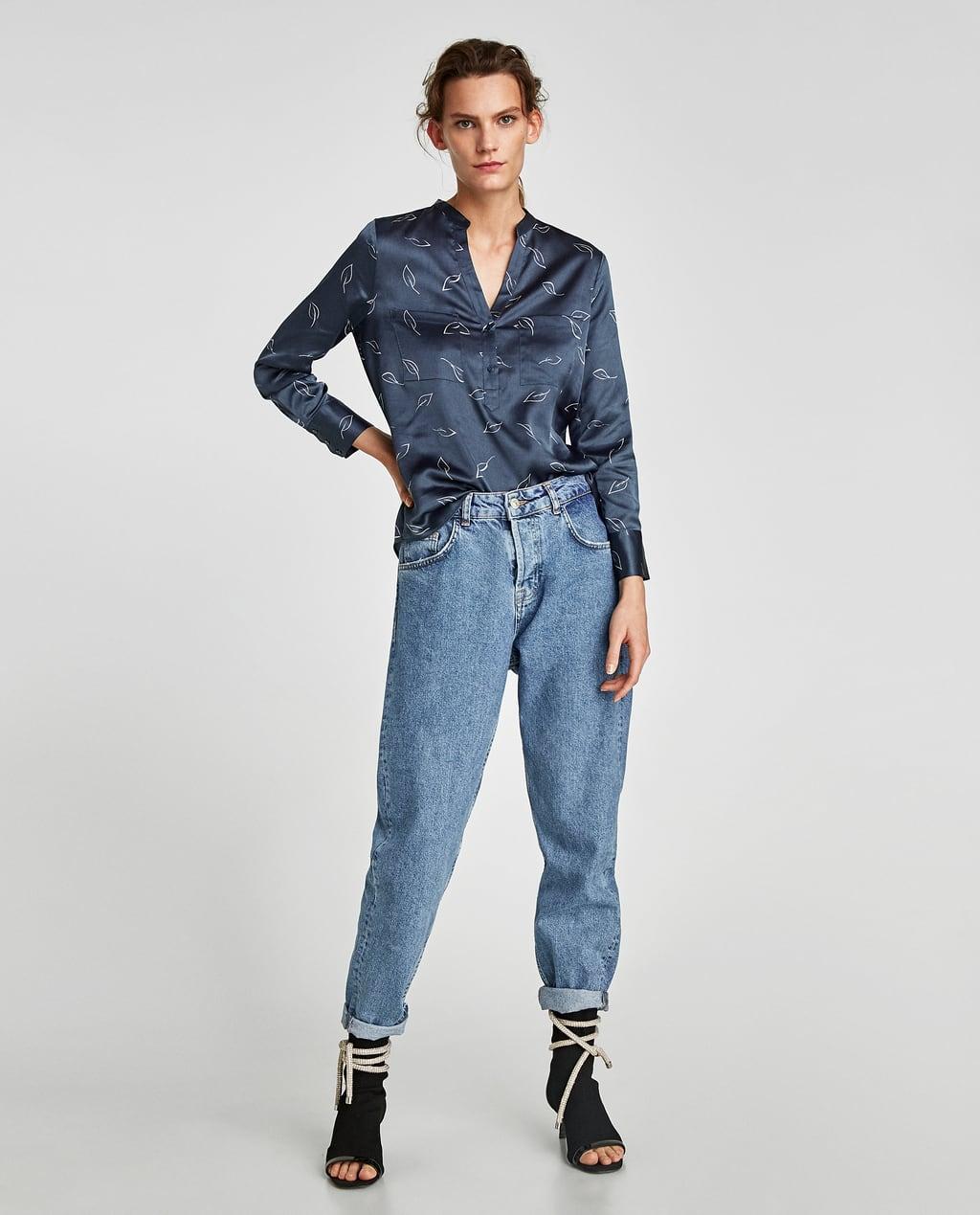 9f5e44d4562 Отзыв на Цветные атласная блузка (блузки и туники) из Zara
