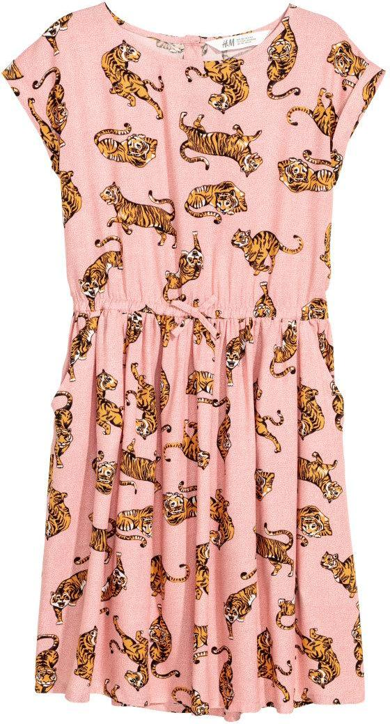 Отзыв на Платье с рисунком из Интернет-Магазина H&M