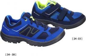Отзыв на Обувь для ходьбы NH100 для детей голубой QUECHUA из Интернет-Магазина Decathlon