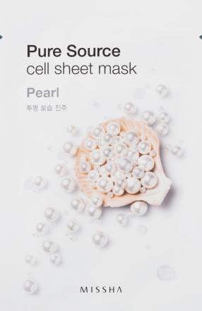 Pure Source Cell Tuchmaske Pearl, 1 St