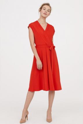 Отзыв на Платье на запах из Интернет-Магазина H&M