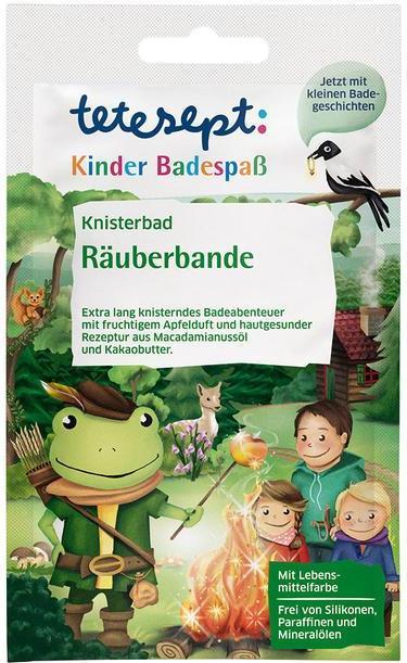 Отзыв на Tetesept для детей Купания Knisterbad