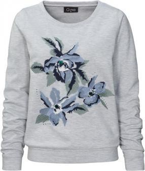 Для женщин свитер с вышивкой