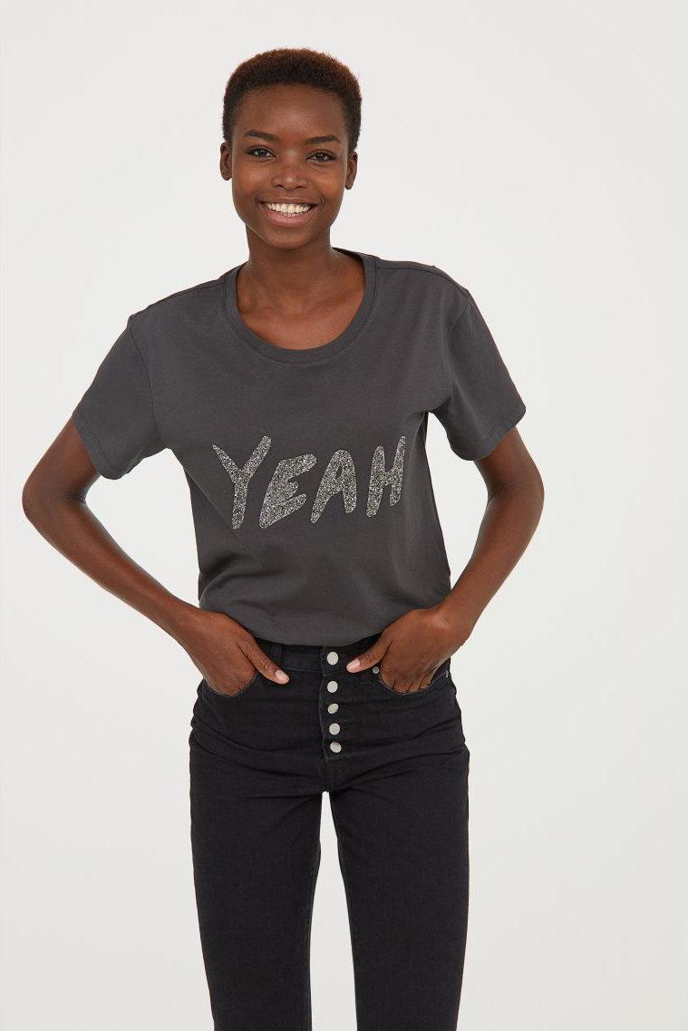 Отзыв на Рубашка с рисунком из Интернет-Магазина H&M