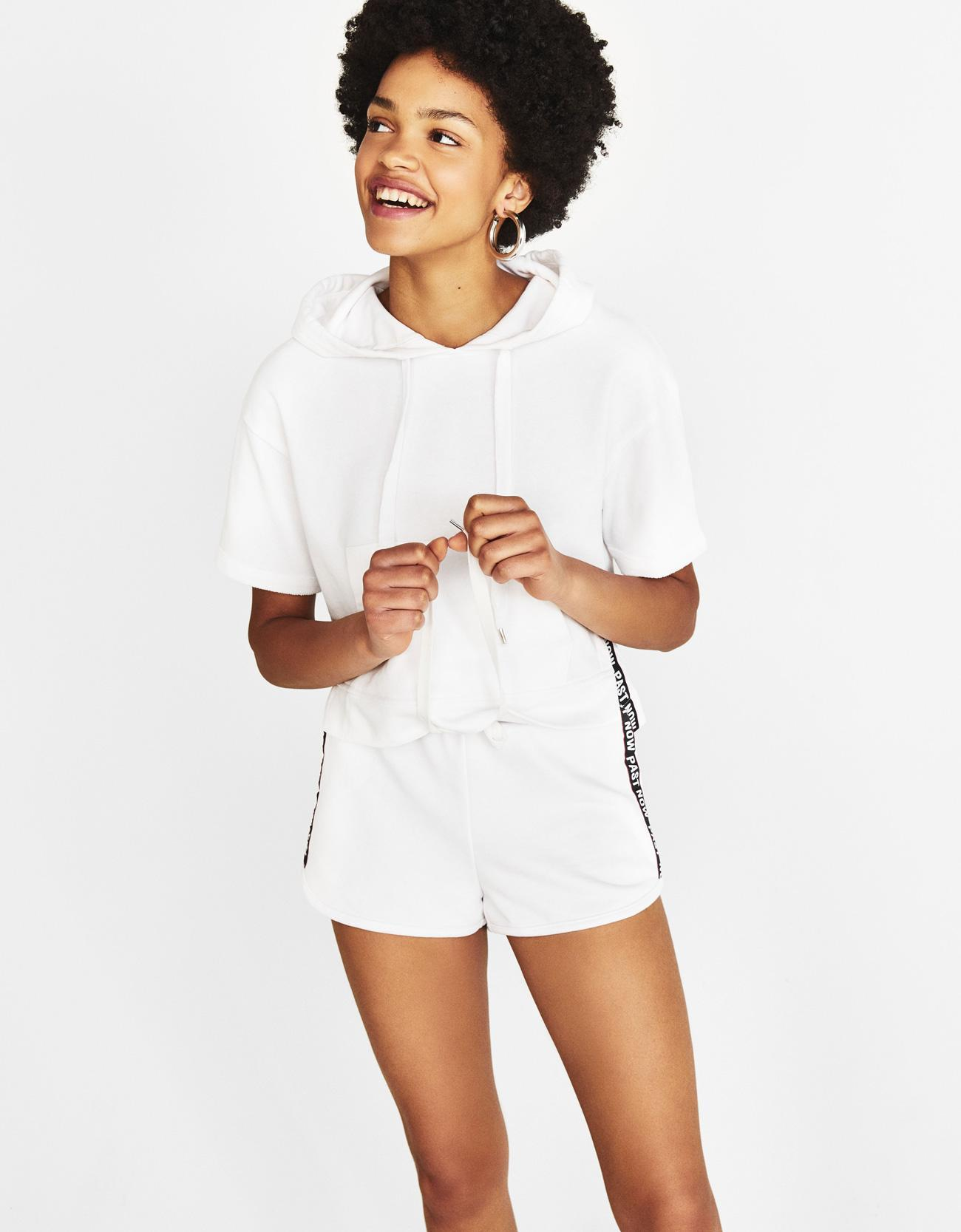 Отзыв на Kapuzen-Sweatshirt из Интернет-Магазина Bershka