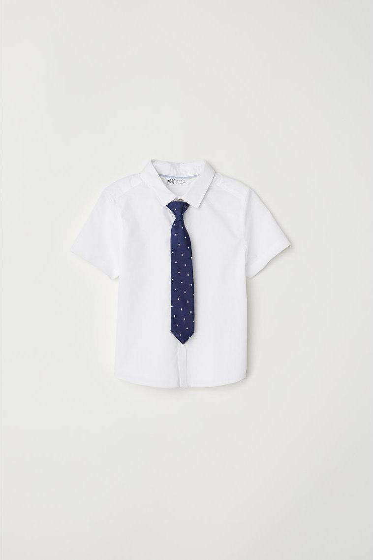Отзыв на Рубашка с галстук/бабочка из Интернет-Магазина H&M