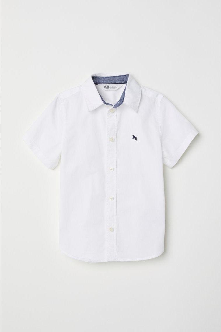 Отзыв на Рубашка с коротким рукавом из Интернет-Магазина H&M