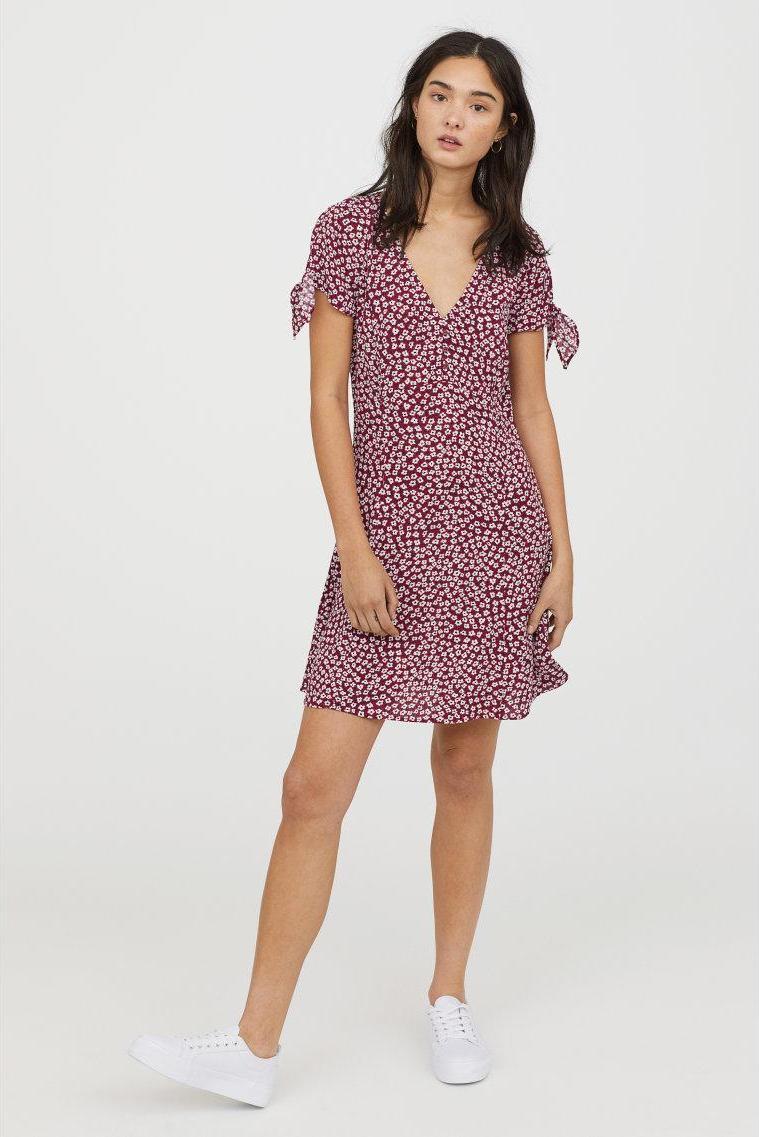 Отзыв на Платье с V-образным вырезом из Интернет-Магазина H&M