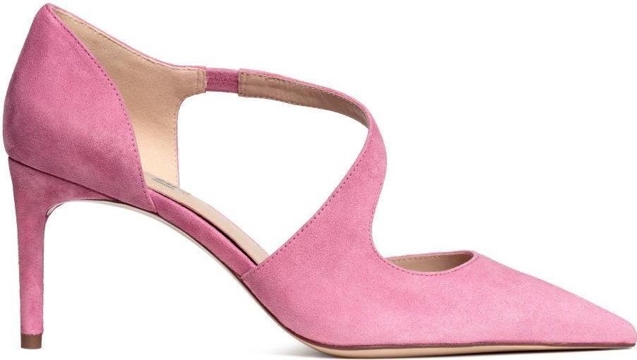 Отзыв на Туфли с замши из Интернет-Магазина H&M
