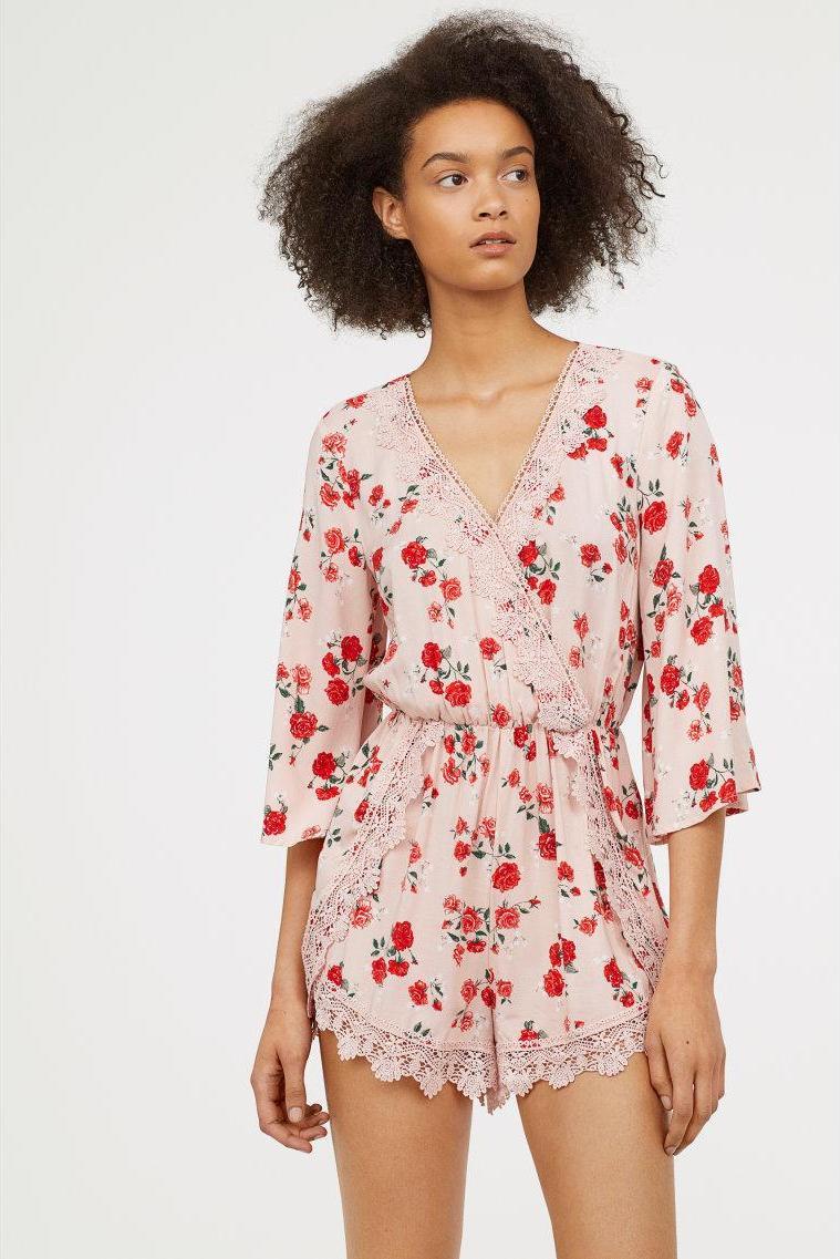 Отзыв на Комбинезон с кружевом из Интернет-Магазина H&M