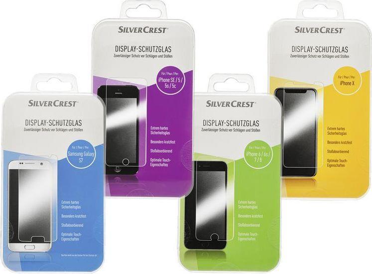 Отзыв на SILVERCREST® Display-Schutzglas из Интернет-Магазина LIDL
