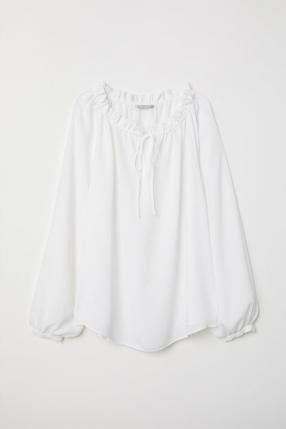 Блузка с Структура ткани