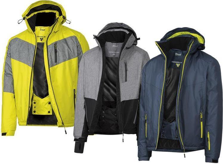 Отзыв на CRIVIT® для мужчин лыжная куртка из Интернет-Магазина LIDL