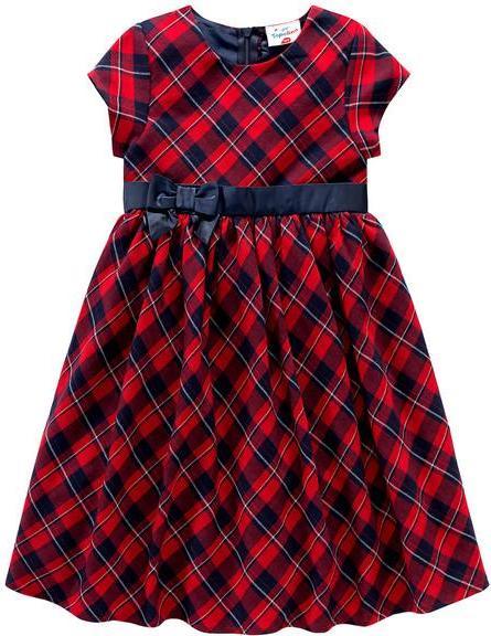 Отзыв на Праздничный для девочки Платье в Каро-Дизайн из Интернет-Магазина Ernstings family