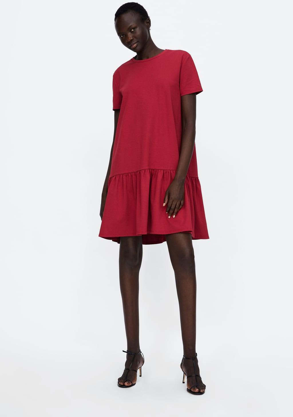 Отзыв на PREMIUM-ПЛАТЬЕ с Баской из Интернет-Магазина Zara