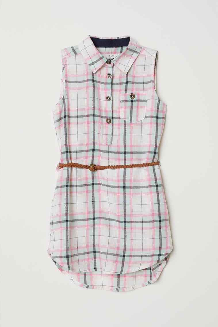 Отзыв на Футболка платье с поясом из Интернет-Магазина H&M