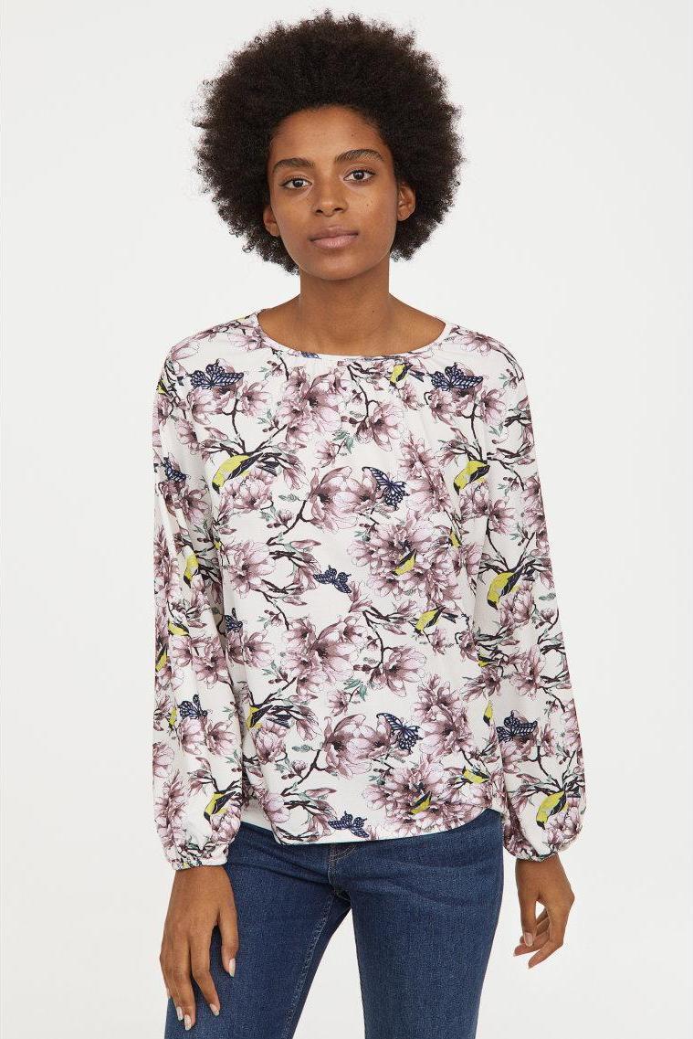 Отзыв на Gekrepptes футболка трикотажная из Интернет-Магазина H&M
