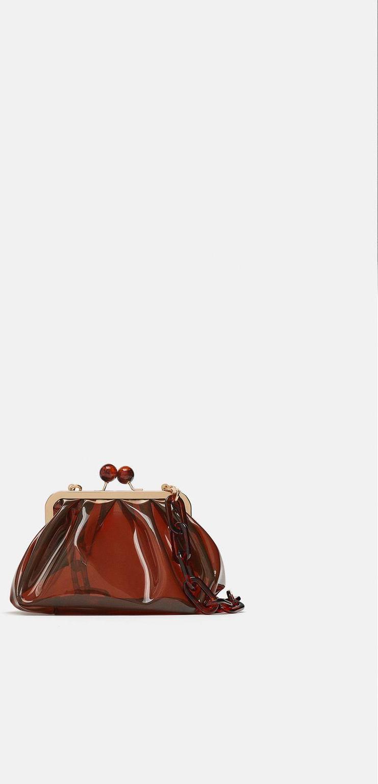Отзыв на Сумка через плечо с Винил с KNIPSVERSCHLUSS из Интернет-Магазина Zara