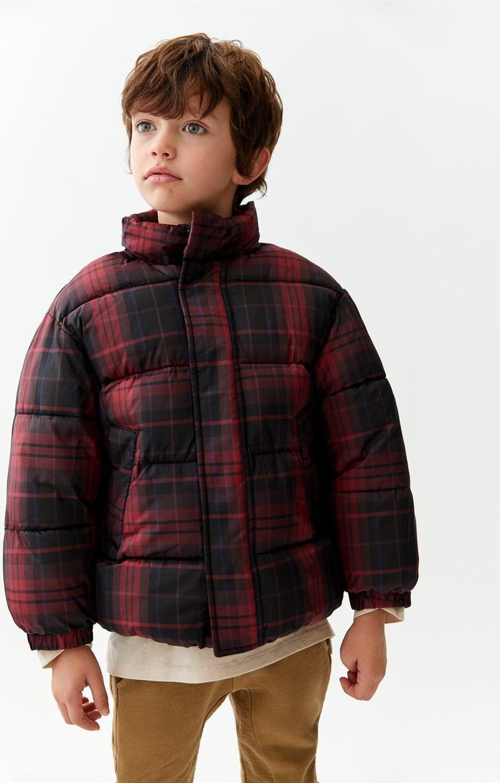 Отзыв на Клетчатые стеганая куртка из Интернет-Магазина Zara