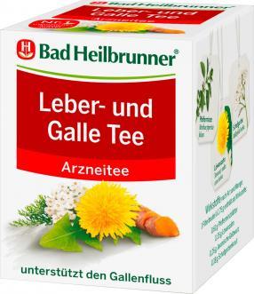 Arznei-Tee, Leber & Galle Tee (8x1,75g), 14 g