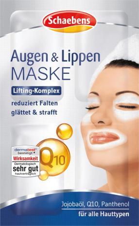 Maske Augen & Lippen, 6 ml