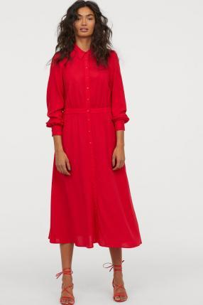 Отзыв на Платье с Воротник из Интернет-Магазина H&M