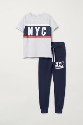 Отзыв на Футболка и Спортивные штаны из Интернет-Магазина H&M