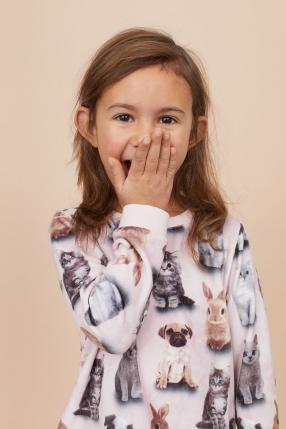 Отзыв на Свитер с принтом из Интернет-Магазина H&M