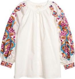 Отзыв на Блузка с вышивкой из Интернет-Магазина H&M