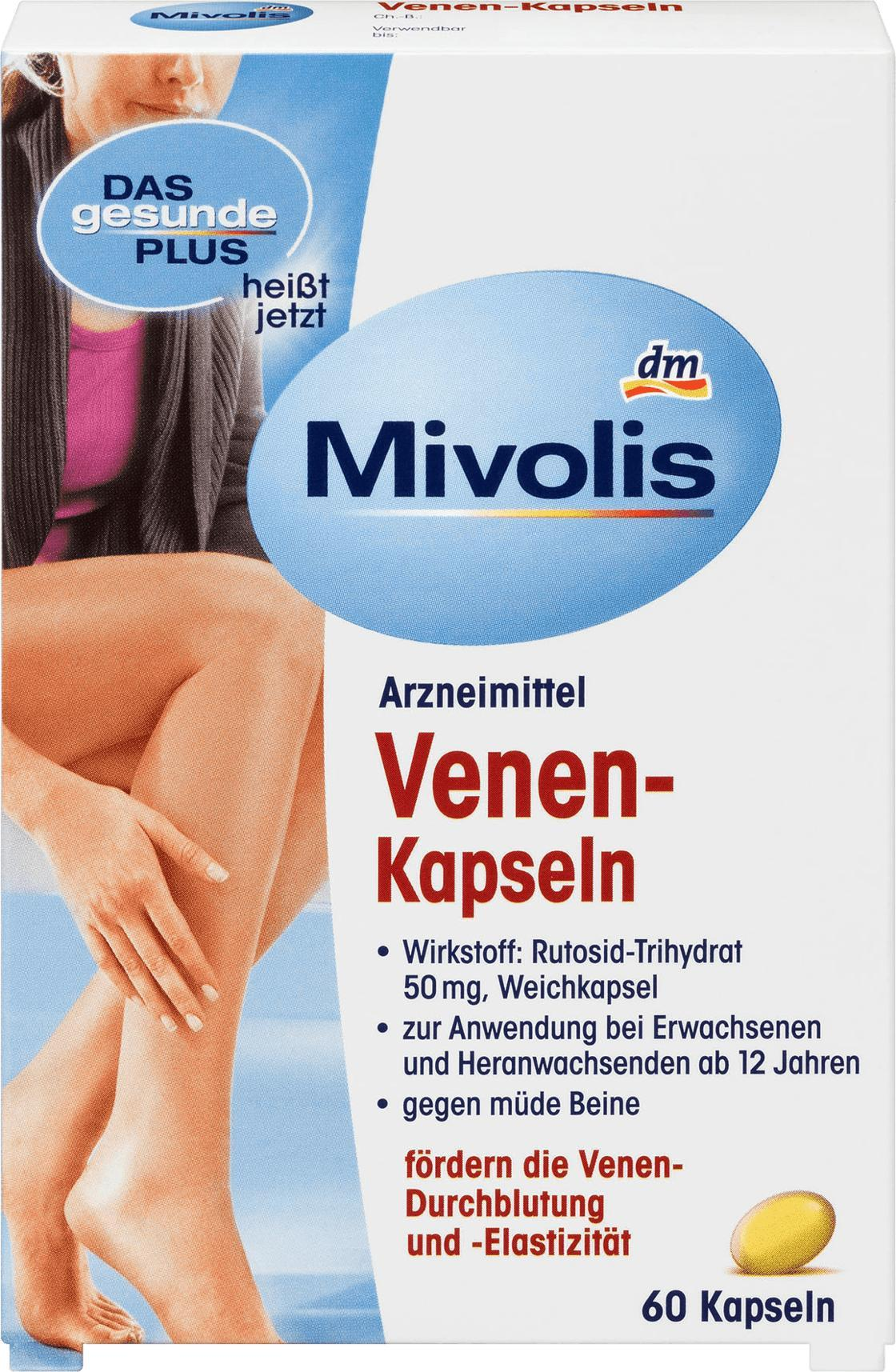 Отзыв на Venen-Kapseln, 60 St из Интернет-Магазина DM